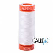 Aurifil 50 Cotton Thread - 2021 (Natural White)